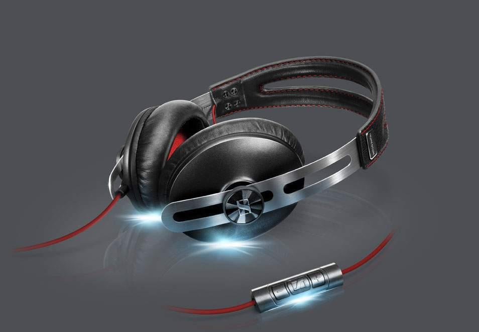 Sennheiser Momentum Black -kuulokkeet yhdistävät teknologian ja tyylin.