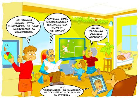 tulevaisuuden kodissa on älykäs sähköverkko