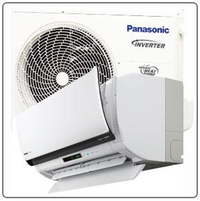 Panasonic VE ilmalämpöpumppu